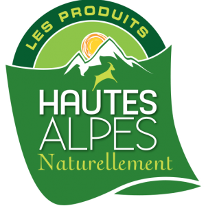 Logo du label : HAUTES ALPES Naturellement®